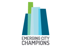 K880 Emerging City Champions Logo