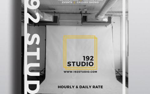 192 Studio Poster