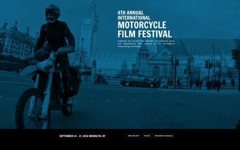 motorcycle film festival
