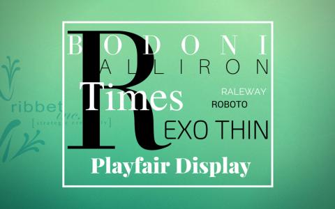 Font Design Cover